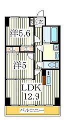 KMおおたかの森[8階]の間取り
