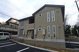 兵庫県三木市自由が丘本町1丁目の賃貸アパートの外観