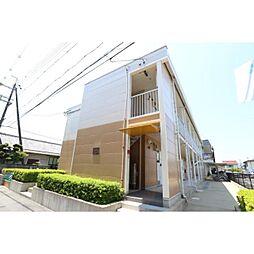 奈良県生駒郡斑鳩町興留6丁目の賃貸アパートの外観