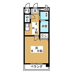 V Be Cozy[3階]の間取り