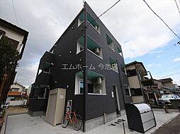 愛知県名古屋市守山区鳥羽見1丁目の賃貸アパートの外観