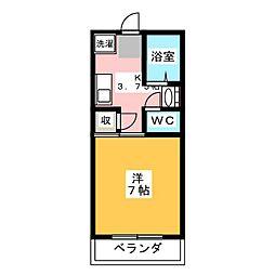小林マンション3号棟[1階]の間取り