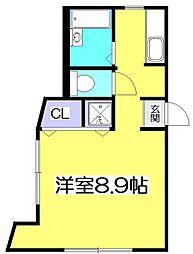 MODULOR国分寺[3階]の間取り