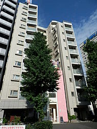 東京都港区南麻布1丁目の賃貸マンションの外観