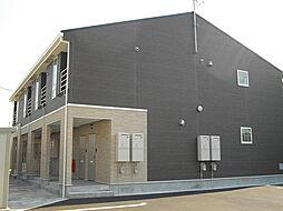 富山県富山市長江の賃貸アパートの外観