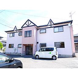 新潟県新潟市東区中山5丁目の賃貸アパートの外観