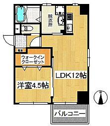 at.east(エイティ・イースト)[2階]の間取り