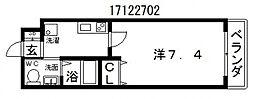マークス昭和町[7階]の間取り