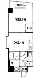アクアスイート新大阪[4階]の間取り