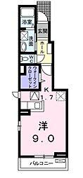 フィール グラッドA[1階]の外観