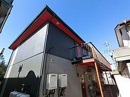 千葉県印西市木下の賃貸アパートの外観