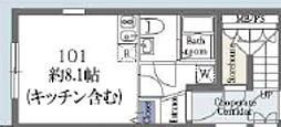 東京メトロ銀座線 浅草駅 徒歩15分の賃貸マンション