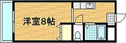 パレ南笠佐わらび[2階]の間取り