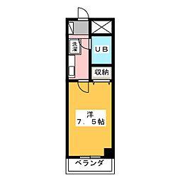 高崎レックス鞘町[11階]の間取り