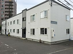 北海道札幌市厚別区青葉町12丁目の賃貸アパートの外観