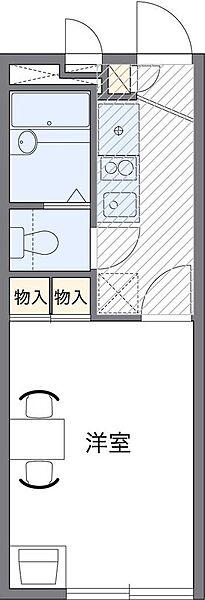 P・A・L[2階]の間取り