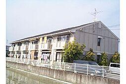 京都府京都市西京区樫原八反田の賃貸アパートの外観