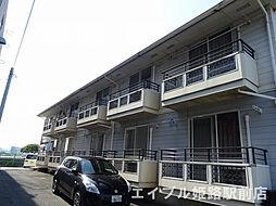 兵庫県姫路市花田町一本松の賃貸アパートの外観