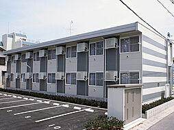 レオパレス皆生新田[2階]の外観