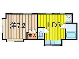 SAKURA HOUSE[2階]の間取り