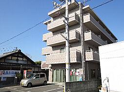 愛媛県松山市小栗6丁目の賃貸マンションの外観
