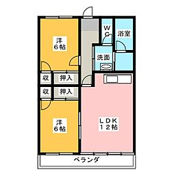 長谷川ビル[3階]の間取り