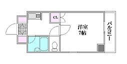 第2藤澤ビル[507号室]の間取り