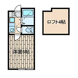 サンメゾンS[2階]の間取り