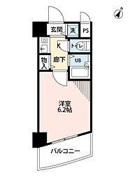 ラナップスクエア新福島[905号室]の間取り