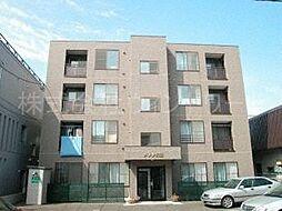 北海道札幌市中央区南十条西17丁目の賃貸マンションの外観
