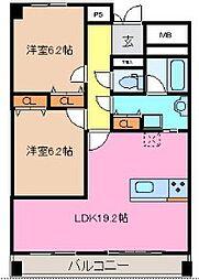 豊千ビル[3階]の間取り