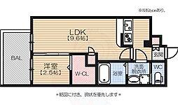 西新駅 8.4万円