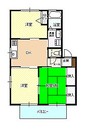 シャーメゾン伊佐江 B棟[202号室]の外観