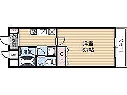 ACTYヒヴァ城東[1階]の間取り