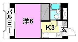 ジョイフルハウス[402 号室号室]の間取り