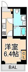 ABODE東浅草[5階]の間取り