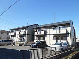 静岡県浜松市中区領家2丁目の賃貸アパートの外観