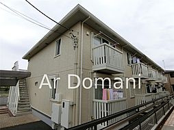 千葉県松戸市千駄堀の賃貸アパートの外観