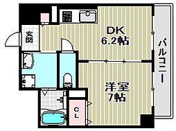 スプランドゥール蔵前[6階]の間取り