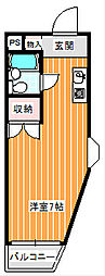 SOハイツ[4階]の間取り