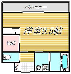 仮)大和田アパート[2階]の間取り