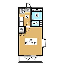 アネックス香久山[3階]の間取り