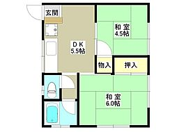 ハイツタカハシ[2階]の間取り