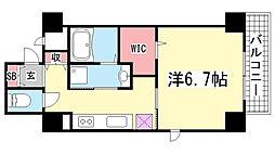 YAMATE435[5階]の間取り
