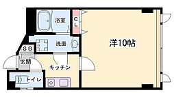 神戸興安亭ビル[4階]の間取り