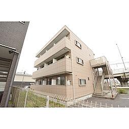 埼玉県日高市上鹿山の賃貸マンションの外観
