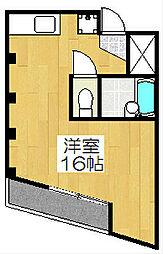 KAWARAMACHI PLACE[902号室]の間取り