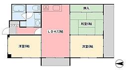 エンブレム南江戸[8階]の間取り
