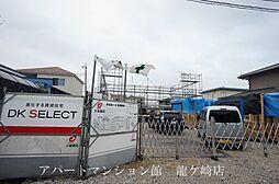 茨城県龍ケ崎市野原町の賃貸アパートの外観