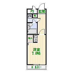 ライオンズマンション綾瀬第3[4階]の間取り